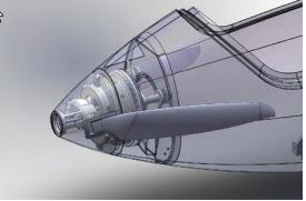 FES System Motor und Propeller